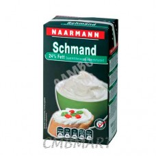 Naarmann Sour Cream 24% Fat 1 Lt