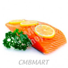 Salted Salmon fillet.