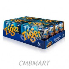 Tiger beer can 330 ml 1 box 24 cans