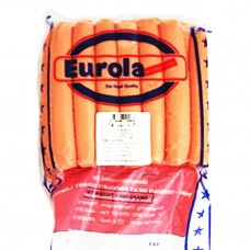 Pork Hotdog sausages 4.5', price for 1 kg Eurola