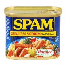 Spam Less Sodium 340g