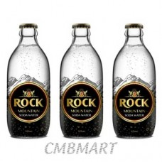 Rock Mountain Soda Water 325 ml. Price per 1 Box 24 Bottle