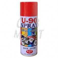 Acrylic Lacquer U-90 Spray A211 red
