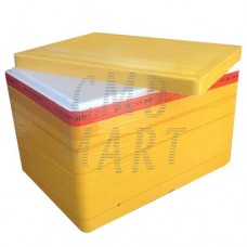 Foam plastic box XS
