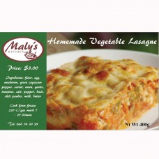 Homemade vegetable lasagne 400 g Frozen