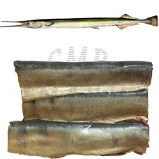 Cold-smoked garfish