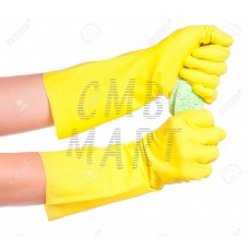 Rubber gloves. Thick