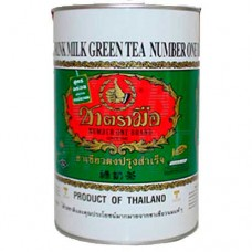 Thai Milk Green Tea number One 1 tin 220 gm