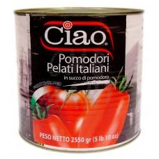Ciao Italian Peeled Tomatoes 2550g
