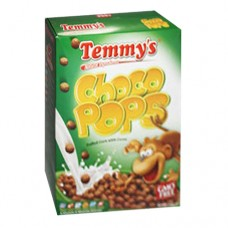 Temmy's Choco Pops Puffed Corn with Cocoa 375 g