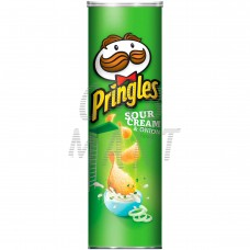 Pringles Potato Chips - Sour Cream And Onion 158G