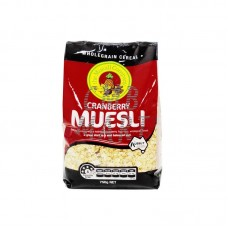 Muesli - The Muesli Company - Granberry 750 g
