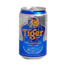 Tiger beer can 330 ml