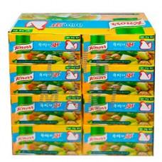 Knorr bouillon cubes 24 pcs per 1 pack