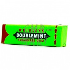 Wrigley's Doublemint. Chewing Gum. 5 Sticks.