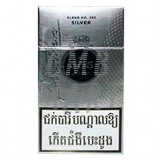 State Express 555 Silver cigarettes