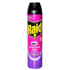 Raid Multi Insect Killer Instant Kill Lavender Fragrance 600 Ml