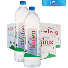Kulen Natural Mineral Water. (1500 ml x 12 bottles)