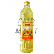 OKI Sunflower oil, 1 L Premium.