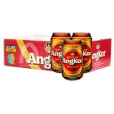 """Angkor"" beer can 330 ml, price for 1 box 24 pcs"