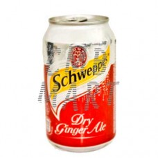 Schweppes Dry Ginger Ale 330 ml