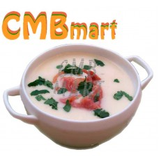 Cream Soup Potato with Bacon. 350-400g