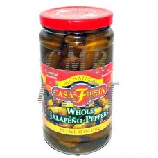 Casa Fiesta, Whole Jalapeno Peppers 340 Gm