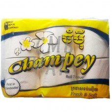 Champey Roll Tissue 6 roll 1 pack