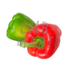 Set Bell pepper: red, green.  0.50-0.7 kg