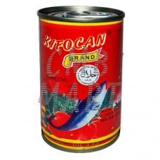 Sardines in tomato sauce. Kifocan. 155g