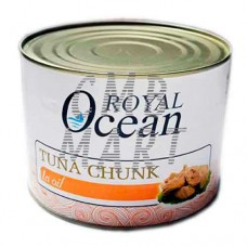 Royal Ocean Tuna Chunk In Oil 1880 Gm