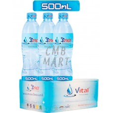 Vital water 500 ml 1 box 24 bottle