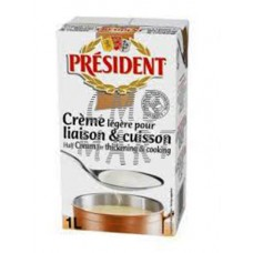 President Cooking Cream 18 % Fat 1 Lt