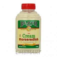 Beaver Cream Horseradish Sauce 340g