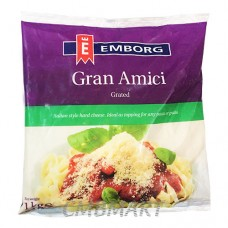 Emborg Grated Gran Amici Parmesan Powder. 1 kg