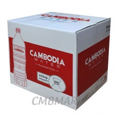Cambodia mineralized drinking water 1500 ml.  Price per 12 Bottles