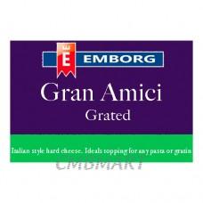 Emborg Grated Gran Amici Parmesan Powder. 0,2 kg