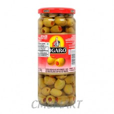 FIGARO STUFFED GREEN OLIVE 340g