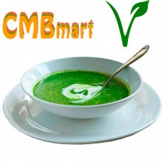 Cream of spinach with potato. 450 g Frozen.
