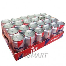 Wurkz Energy drink can 250 ml. 1 box 24 pcs.