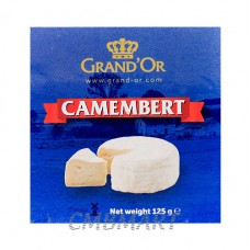 Cheese grand'or Camembert  125 gm