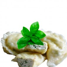 Dumplings with feta cheese and italian basil 0.5 kg