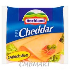 Sliced Cheddar Cheese Hochland 28 sl, 350 gm
