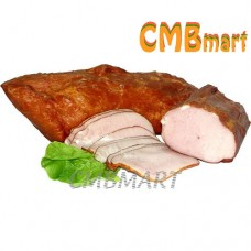 Smoked pork carbonate.