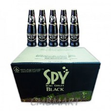Wine Cooler Spy Black 1 box 24 bottles