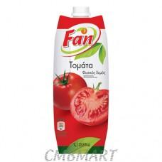 Fan tomato juice. 1l