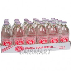 Singha Soda Water 325 ml. Price per 1 Box 24 Bottle