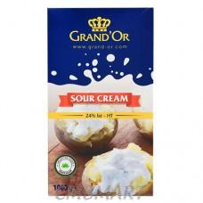 Grand'or Sour Cream 24% Fat 1 Lt