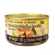 Tuna Chunk In Brine 185g