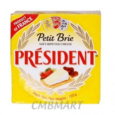 Cheese President Brie 125 gm